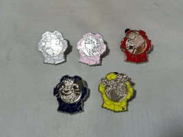Disney Official Trading Pins Character Ribbons Theme Hidden Mickey Lot of 5 - $13.89