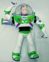 Toy Story Talking Buzz Lightyear 12in Figure Pop Out Wings Lights Sound ... - $23.75