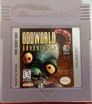 "Nintendo Game Boy ""ODDWORLD ADVENTURES"" 1998 (Game ONLY)  Used - $8.50"