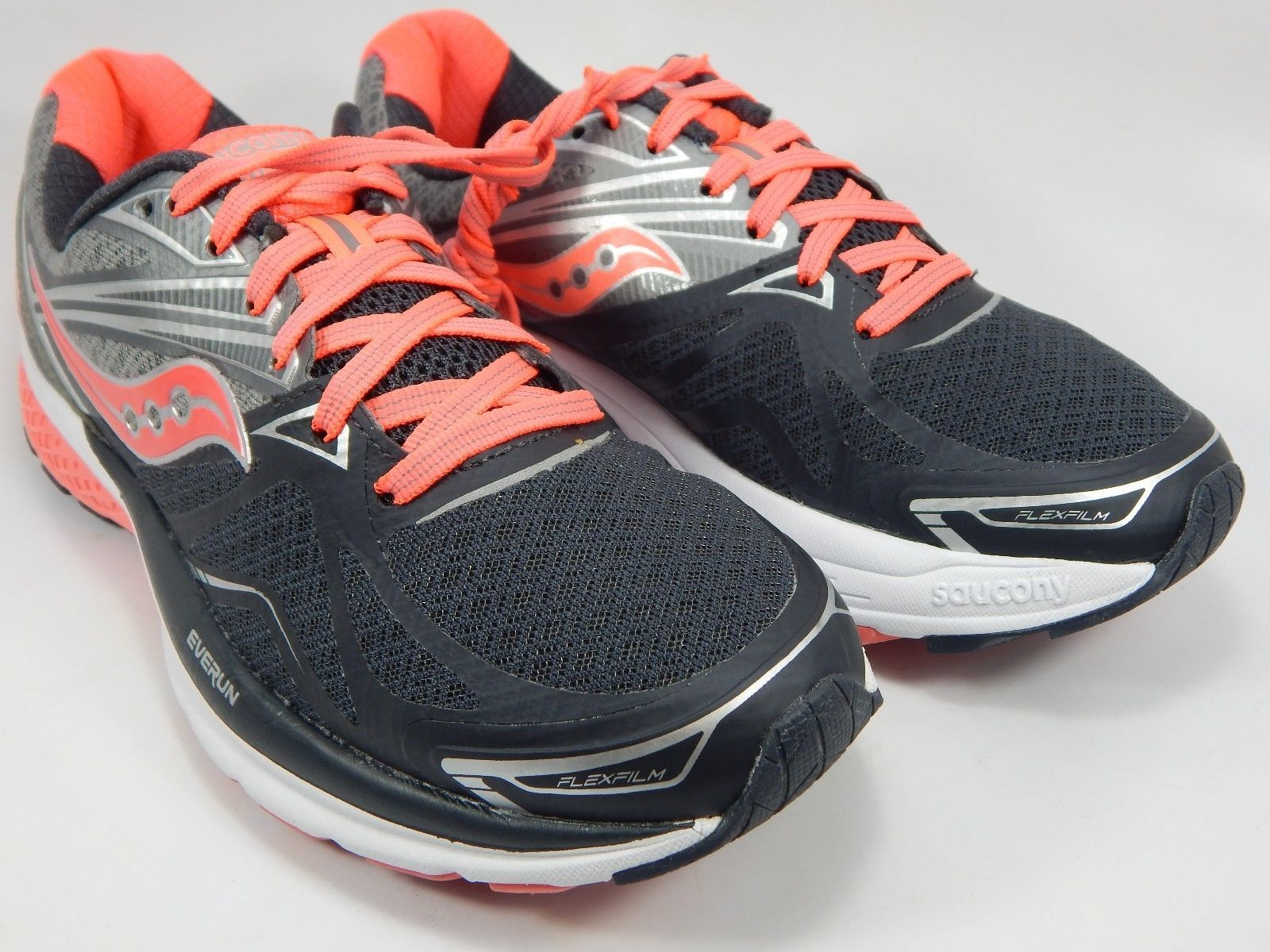 Saucony Ride 9 Women's Running Shoes Size US 8 M (B) EU 39 Gray Pink S10318-1