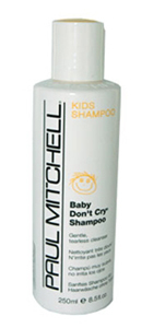 Paul mitchell baby dont cry shampoo former