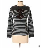 Black and Gray Stripped Sweater size XS  - $14.25