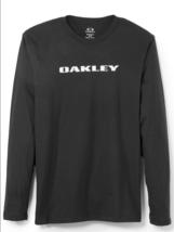 New Mens Oakley Bark Cotton Long Sleeve T-shirt (Red, Black, Blue) - $24.97
