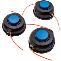 3 Pack Tap Trimmer Head for Husqvarna T25 124C 122C 125C 128C 322C 323C - $42.12