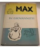 Max by Giovannetti 1954 Wordless Picture Book Vintage Hardcover Dustjacket - $14.84