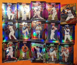 2019 panini Prizm 178 refractors & parallels cards + partial base set MU... - $300.00