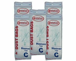 20 Hoover C Bags for Convertible Bottom Fill convertible Lightweight OS ... - $12.95