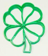 Cloverleaf Detail Lucky 4 Leaf Shamrock Good Luck Cookie Cutter PR2288 - £2.31 GBP