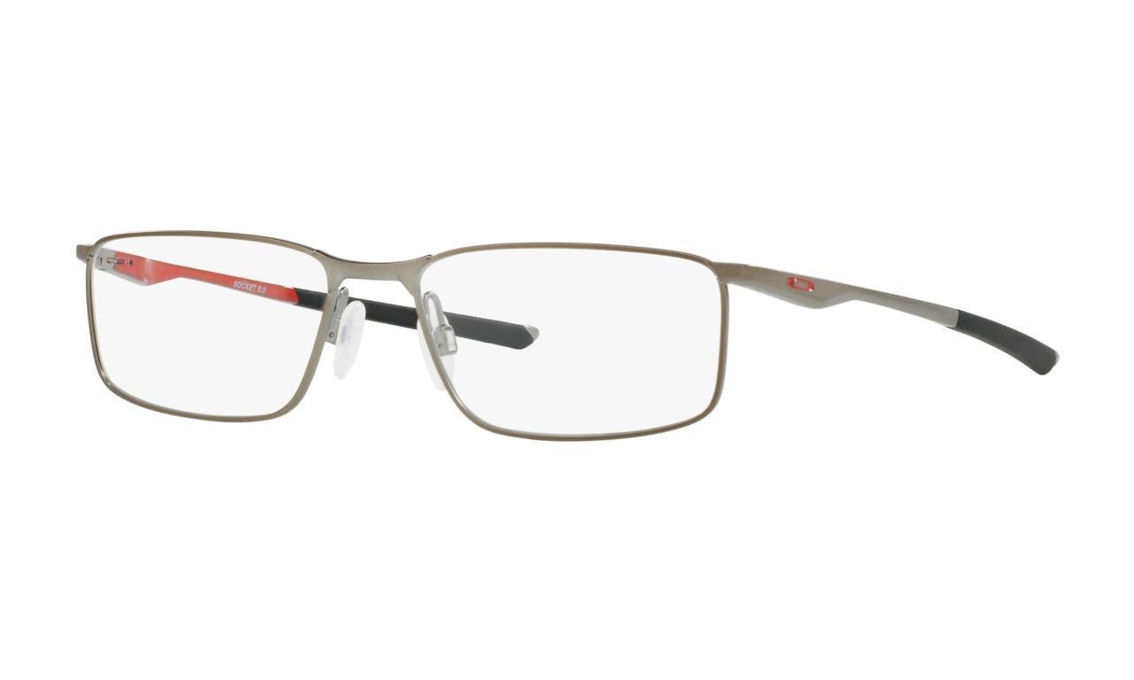 4751c90ed96 S l1600. S l1600. New Authentic Eyeglasses OAKLEY SOCKET 5.0 Brushed Chrome  55mm OX3217-0355 MMM