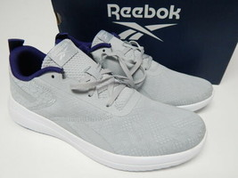 Reebok Pennymoon Size US 11 M EU 42.5 Women's Lace-Up Walking Shoes Gray... - $43.55