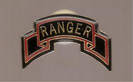 Vintage Vietnam War US Army Rangers Small Hat Or Collar Pin In Form Of F... - $3.50