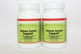 2 Pack! Mr. Natural Immune System Support, 60 Capsules Each, Expires 04/... - $14.84