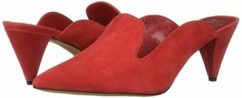 Vince Camuto Cessilia Suede Dress Mules, Multiple Sizes Glamour Red VC-CESSILIA  - $89.95