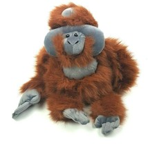 KM International Wild Republic Plush Orangutan Monkey Ape Stuffed Animal... - $17.82