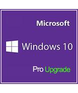 Windows 10 Pro Professional Upgrade Key 32/64 Bit - $8.50