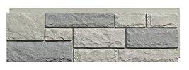 NextStone Random Rock Indoor/Outdoor Siding Panel 4-Pack, Tri-Gray - $144.05