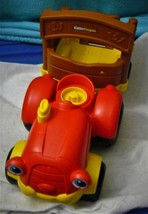 Little People TALKING MUSICAL FARM TRACTOR & TRAILER Fisher Price Toy used - $15.59
