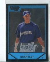 Michael Brantley Rc 2007 Bowman Chrome Prospects #BC15 Milwaukee Brewers Card - $2.49