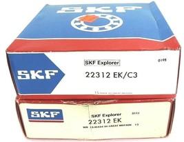LOT OF 2 NIB SKF 22312 EK/C3 ROLLER BEARINGS SPHERICAL 2.544IN TAPERED BORE