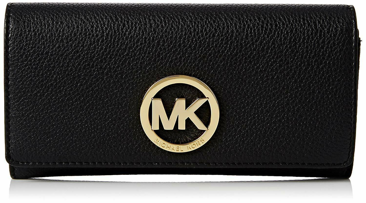 Primary image for NEW! Michael Kors Women's Fulton Carryall Leather Wallet