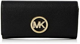 NEW! Michael Kors Women's Fulton Carryall Leather Wallet - $158.28