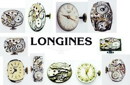 LONGINES Vintage Watch Movement Verieties To Choose For parts or replace... - $9.49+