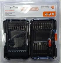 BLACK+Decker BDA36DDSDQC Drill & Drive Bit Set QUick Connect - 36 Piece - $7.92