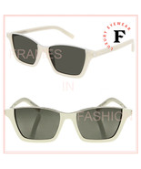 SAINT LAURENT DYLAN 365 YSL SL365 Ivory White Topless Sunglasses Unisex 004 - $252.45