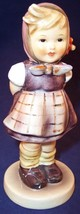 "Hummel Goebel ""Which Hand"" Girl Figurine #258 TMK4, with REPAIR and Crazing - $7.99"