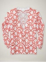 NWT Gap Girls Heart Print Sweater Size L(10) - $13.99