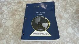 1999 Ford Villager Van Service Repair Manual Volume II FCS-12233-99-2 - $9.94