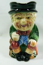 VTG Toby Jug Occupied Japan Ucagco Mug Pitcher Creamer Happy Man Gentleman - $46.73