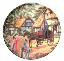 The Postman Country Deliveries Stephen Cummins Collector Plate Horse Plate - $38.24