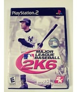 Major League Baseball 2K6 for PlayStation 2 NEW FACTORY SEALED - $11.88