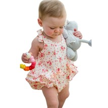 Newborn Baby Clothes Cotton Baby Kids Girls Floral Printed Romper Cotton... - $11.80