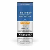 Neutrogena Ageless Intensives Deep Wrinkle Moisture Cream Retinol SPF 20 Sunscre - $13.09