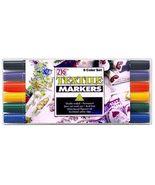 ZIG Textile Markers - 6 color set - $6.95