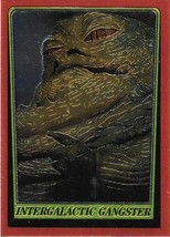 1999 Topps Star Wars Chrome Archives #62 Intergalactic Gangster > Jabba The H - $1.49