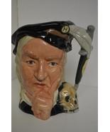 "ROYAL DOULTON CHARACTER HAMLET LARGE JUG D6672 Shakespearean Series 7"" T... - $76.18"