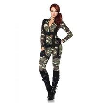 Leg Avenue Women's Pretty Paratrooper Costume Camo Large - $57.42