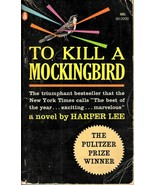 To Kill A Mockingbird Harper Lee 1962 First Edition Paperback Popular Library  - $19.06