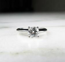 18K 1.04ct CIA Cert. Brilliant Cut Round Diamond Solitaire Engagement Ring DIA01 - $6,680.55