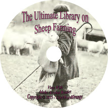 44 RARE Books on CD Sheep Farming, Husbandry, How to, For Profit, Raise,... - $6.76