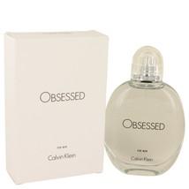 Obsessed By Calvin Klein Eau De Toilette Spray 4.2 Oz 537504 - $53.68