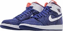 Nike Jordan 1 Retro Hi GG 332148-411  Basketball BIG KIDS Shoes - $89.95