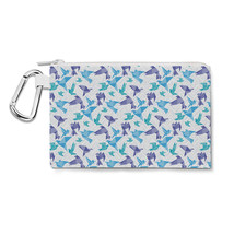 Origami Birds Canvas Zip Pouch - $15.99+