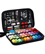 Sewing Kit, Diy Handmade Craft Sewing and Repair Kit Supplies with 99 Es... - $12.13