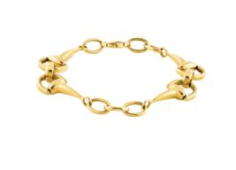 "Roberto Coin 18K Horsebit Cheval Collection Bracelet size 7"" 15.7(g) $3100 - $1,534.50"