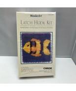 Caron Wonder Art #4673 Goldfish Latch Hook Kit 12″ x 12″ - $39.99