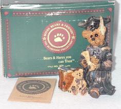 Boyd Bearstone Resin Bears Edmund The Graduate Carpe Diem Figurine 6E #227701-07 image 3
